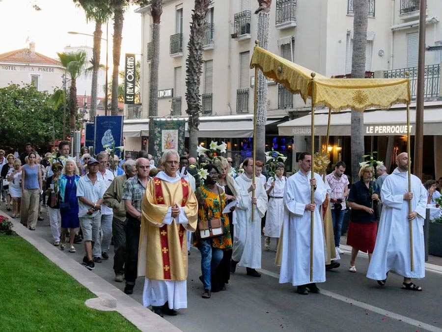 Procession ND de la Pinède 2019